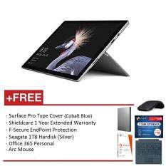 NEW Microsoft Surface Pro - Core I7 8G/256GB Free Surface Pro Type Cover (Cobalt Blue) + Shieldcare 1 Year Extended Warranty + F-Secure EndPoint Protection + Arc Mouse + Office 365 Personal + Seagate 1TB External Hard Disk Malaysia