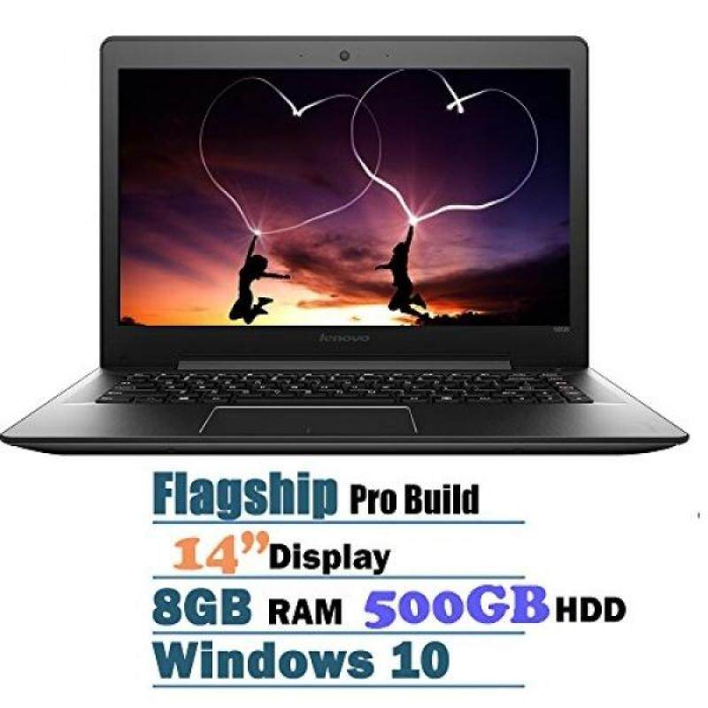 Newest Lenovo 14 Inch Full HD Premium Laptop (Intel Core i5-6200U, 8 GB, 500GB HDD, Webcam,WiFi,Bluetooth,Media card reader, HDMI,,Windows 10,Black) Malaysia