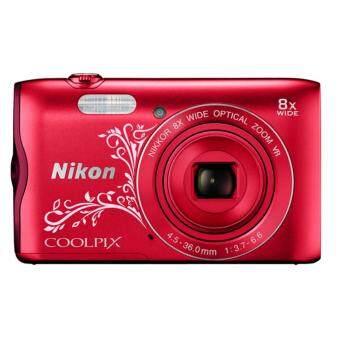 Nikon Coolpix A300 Digital Camera + 8GB SanDisk SDHC Card + Nikon Casing (ORIGINAL NIKON MALAYSIA) - 2