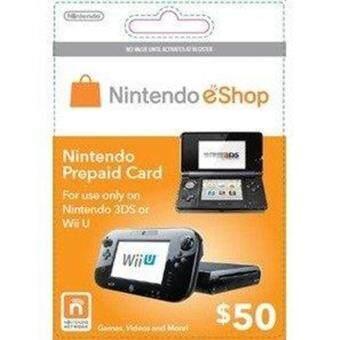 NINTENDO ESHOP PREPAID CARD- USD 50