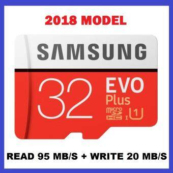 [OFFICIAL PRODUCT] 2018 Samsung 32GB 95MB/s Micro SD Evo Plus Class 10 MicroSDXC UHS-I with FREE Adapter - SAMSUNG MALAYSIA OFFICIAL WARRANTY (10 YEARS)