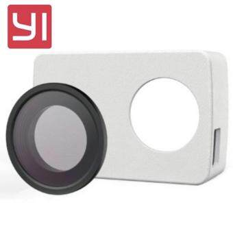 [OFFICIAL PRODUCT] Xiaomi XiaoYi Yi 4K 12MP Sport Action Camera PULeather Case with UV Protective Lens - BLACK - 2