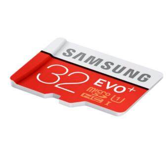 Official Samsung 32GB EVO Plus Speed up to 95mb/s Class 10 MicroSDXC with Adapter (2017 New Model)