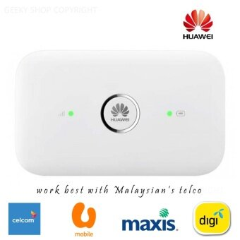 Original Huawei E5573 Pocket Wifi Mifi Modem | Unlock Simcard & Support Digi Maxis Celcom Umobile | 4G+ LTE 150mbps Highspeed
