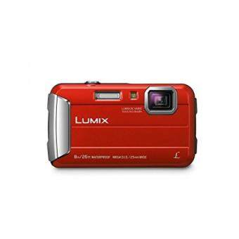 Panasonic DMC-TS30R LUMIX Active Lifestyle Tough Camera Red