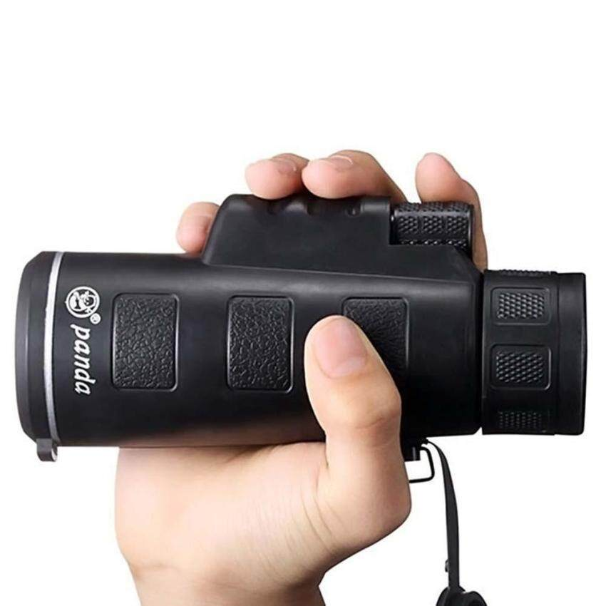 PANDA 40X60 Focus Zoom Outdoor Travel HD OPTICS BK4 Monocular Telescope Hot