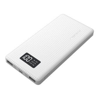 PINENG PN-963 10000mAh Lithium Polymer Power Bank (White)