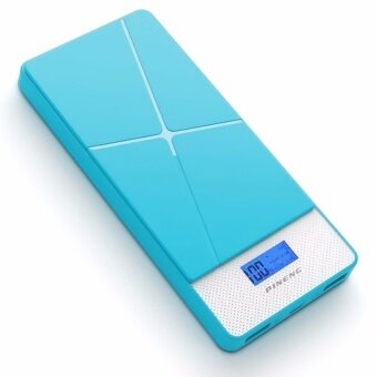 Pineng PN983 10000mAH Lithium Polymer Slim PowerBank Blue