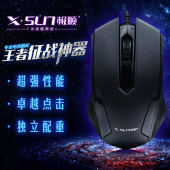 Pole along the X312 USB optical wired mouse desktop machine notebook computer universal multimedia Optical Mouse