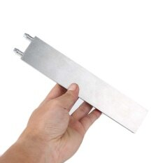Portable Silver Water Cooling Block Radiator Liquid Cooler Heatsink 41 x200x12mm Malaysia