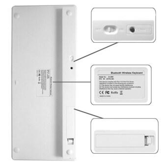 PRADO Universal Wireless Bluetooth Keyboard - White G0295 - 2