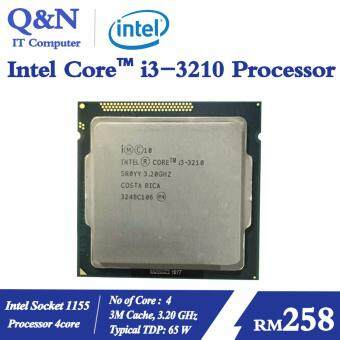 Processor Intel I3 3210 4Core 3.2GHz socket 1155 for Gaming use