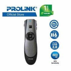 PROLiNK PWP102G 2.4 GHz Wireless Presenter with Air Mouse Malaysia