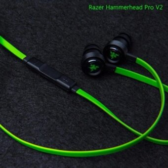 Razer Hammerhead Pro V2 Headphones Omnidirectional Microphone and Volume Controls In-Ear PC and Music Analog Gaming Headset - 4