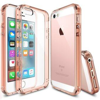 iphone 5s gold case. rearth ringke fusion tpu case for iphone 5 5s se (rose gold) iphone 5s gold