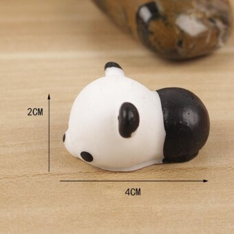 Reduce Pressure Hand Squeeze Soft Squishy Toy Fidget Pinch Toy -Adorable Panda, Size: 4 x 2cm