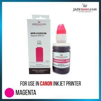 Refill Ink (5 In 1 Set - 100ml) For Canon Inkjet Printer For CISS Refill Dye Based Ink - 4