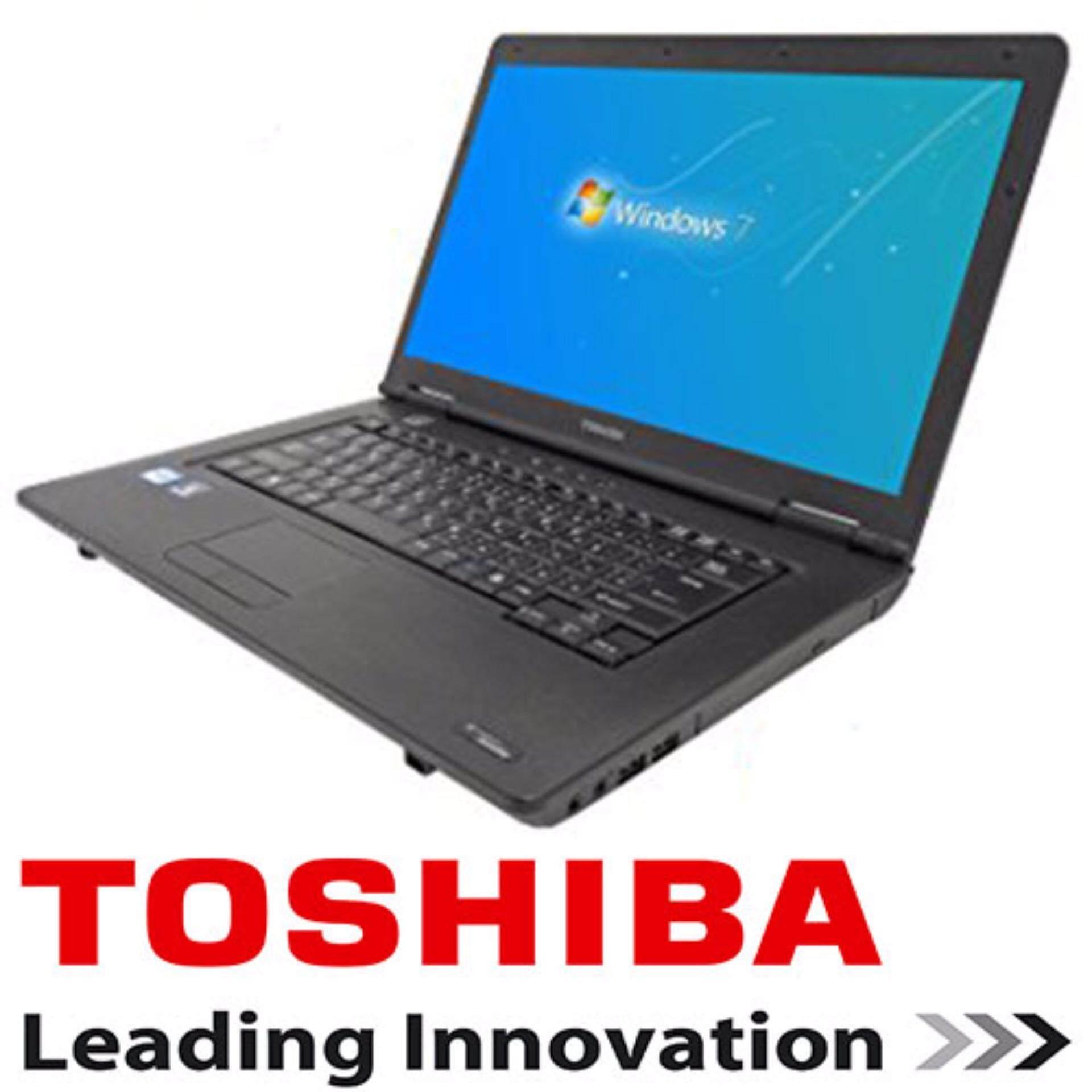 ( Refurbished ) Toshiba Satellite intel core i3 2GB 160GB dvdrw w7pro laptop notebook Malaysia