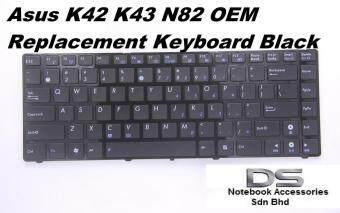 Replacement Laptop Keyboard for Asus K43U Series /Asus K42 Series Malaysia