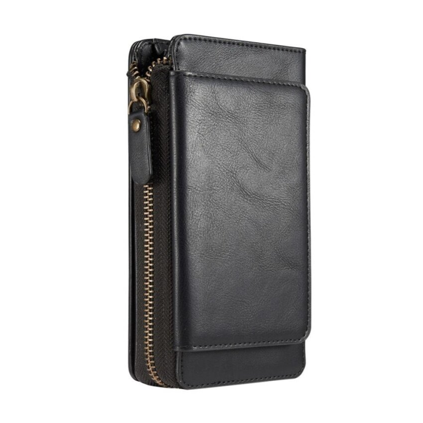 Retro Leather Rope Wallet Card Hand Phone Sets For IPhone 6S Plus image on snachetto.com
