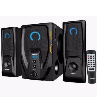 Salpido The Ultimate G6 Core Multimedia 2.1 Speaker with Bluetooth , FM Radio , SD Slot , USB Slot ,Aux Input Malaysia