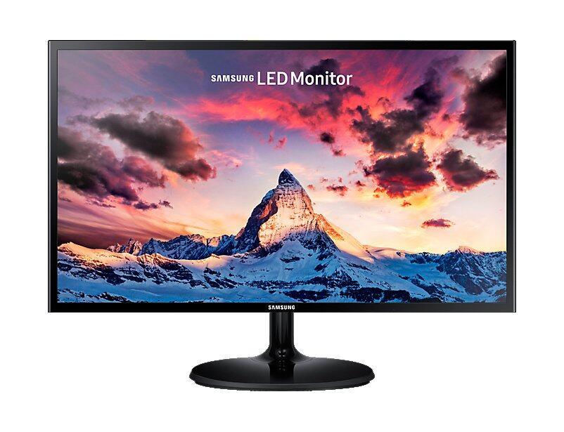 Samsung 23.5 FHD LED Monitor with Slim Depth Design LS24F350FHEXXM Malaysia
