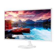 Samsung 31.5 LS32F351FUE FHD White Monitor - With Super Slim Design Malaysia