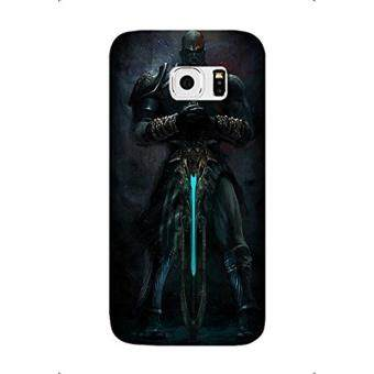 Samsung Galaxy S7 Edge Case, Video Game God Of War III PatternProtective Hard Case Cover Fit for Samsung Galaxy S7 Edge