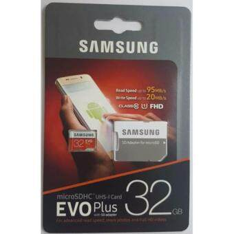 Samsung Micro SDHC Evo PLUS UHS-I Card 32GB 95MB/s With SD ADAPTER Class 10