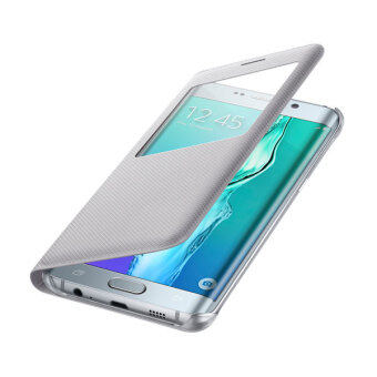 Samsung Galaxy S6 edge Plus 4G Plus S View Cover Silver