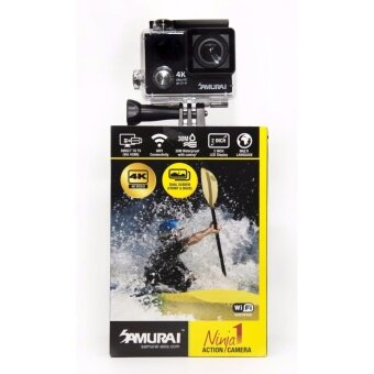 SAMURAI NINJA BLACK 1 - 4K ACTION CAMERA 12 MEGAPIXEL