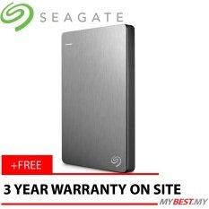 Pouch Source · Seagate Backup Plus Slim Hdd Eksternal 25 1tbusb30 Silver Free .