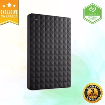 Seagate 2TB Expansion USB3.0 Portable External Hard Drive - Black
