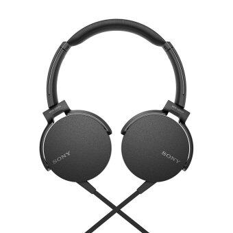 Sony MDR-XB550AP/B EXTRA BASS Headphones MDR-XB550AP (Original) from Sony Malaysia - Black Colour