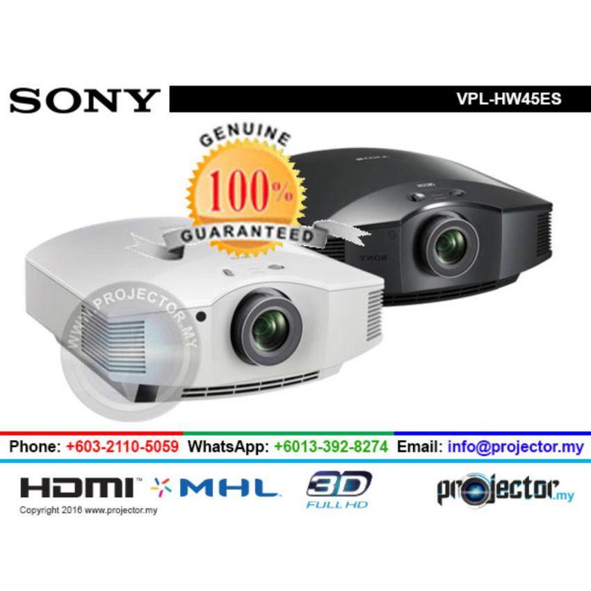 SONY VPL-HW45ES FULL HD 3D SXRD HOME THEATER PROJECTOR