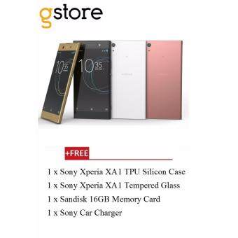 Malaysia Prices Sony Xperia XA1 G3116 [Dual Sim LTE/32GB ROM/3GB RAM] Malaysia Set+ Free Gift worth RM139