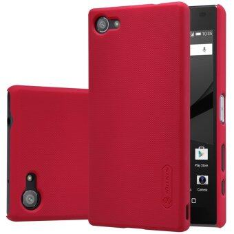 sony xperia z5 compact. sony xperia z5 compact nillkin super frosted shield back case - red