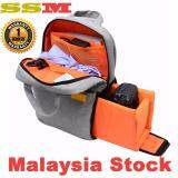 SSM Professional Water-resistant DSLR Camera Backpack Bag With Rain Cover