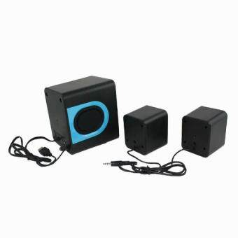 Tastech + Plus BF-100 3D sound Technology With 2.1 channel USB Power Plug Multimedia Speaker For Computer PC or Laptop Malaysia