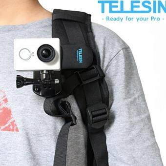Harga TELESIN Backpack Rec-mounts Clip Fast Clamp Mount for Gopro Hero 33+ 4
