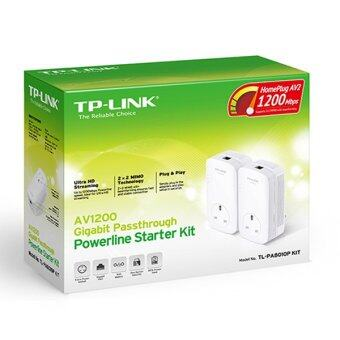 TP-LINK AV1200 GIGABIT PASSTHROUGH POWERLINE STARTER KIT TL-PA8010PKIT - 3