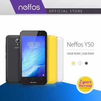TP-LINK NEFFOS Y50 Ultra Fast 4G, 2 Years Warranty (Black/White/Yellow)
