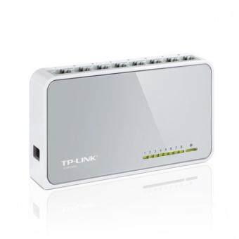 TP-LINK TL-SF1008D 8-Port 10/100Mbps Desktop Network Switch - 4