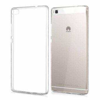 huawei p8 lite white. tpu ultra thin back cover for huawei p8 lite (transparent) white