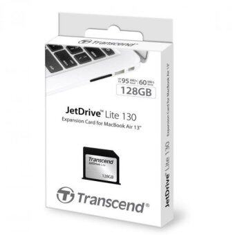 """Transcend 128GB JetDrive Lite 130 Storage Expansion Card for 13\"""" MacBook Air (Late 2010 - Early 2015) TS128GJDL130"""