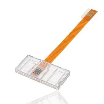 Transparent Card Open Device SIM Big Turn To Small Card Converter Adapter Universal for Mobile Phones Sim Cards Durable