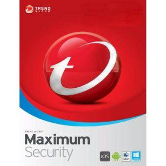Trend Micro Maximum Security 2017 - 1 Year 3 Device - Download