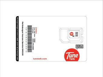 Tune Talk Prepaid SIM Pack (4G LTE SIM) + RM45 Credit + FREE Data