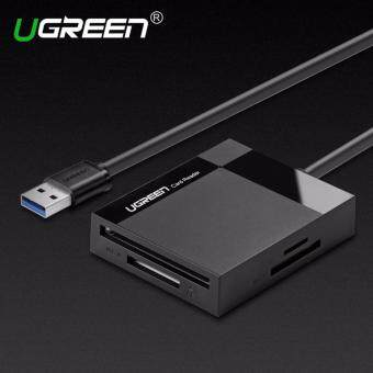 Ugreen All in 1 USB 3.0 Card Reader Super Speed TF CF MS Micro SDCard Reader Multi Smart Memory for Computer USB Card Reader-1mcable