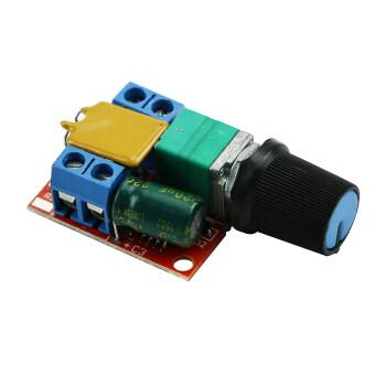 Ultra-small DC 3V 6V 12V 24V 35V PWM Mini Motor Speed ControllerSwitch 5A New - 3